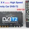 DVB-T24 Car DVB-T2 TV Receiver 4 Tuner 4 Antenna 14