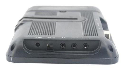 7 inch handheld HD wireless COFDM receiver portable 3
