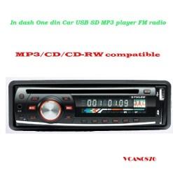 VCAN0876 USB SD MP3 player FM radio 4