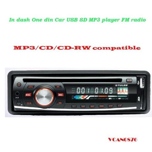 VCAN0876 USB SD MP3 player FM radio 1