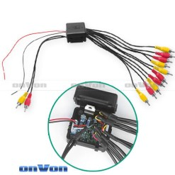 Audio Distribution signal Splitter Amplifier distribute 5 Output 5