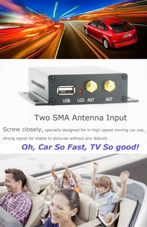ISDB-T digital tv receiver 8