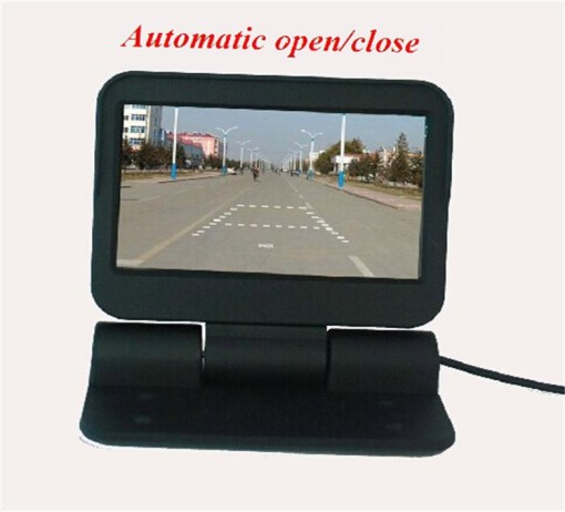 VCAN0998 Auto Electric flip 4.3 monitor LCD Color Car Monitor 3
