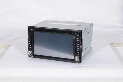 Car 2 din GPS navigator DVD player FM radio Bluetooth USB SD VCAN1294 1