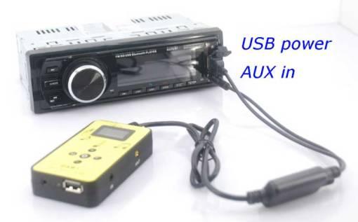 DAB digital radio receiver dab plus tuner Antenna USB power AUX input music changer 3