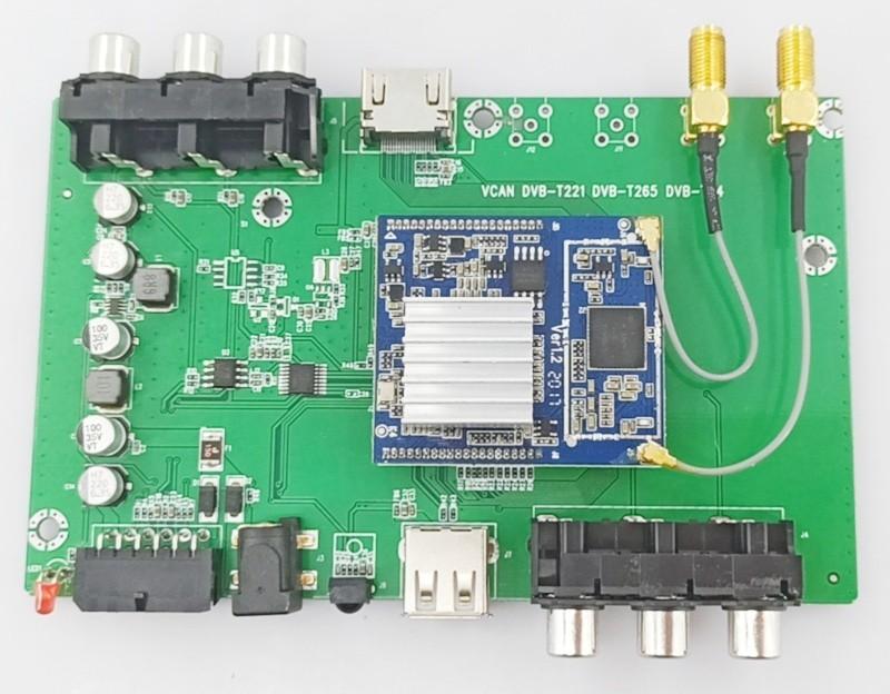 DVB-T2 H.265 Car Sony