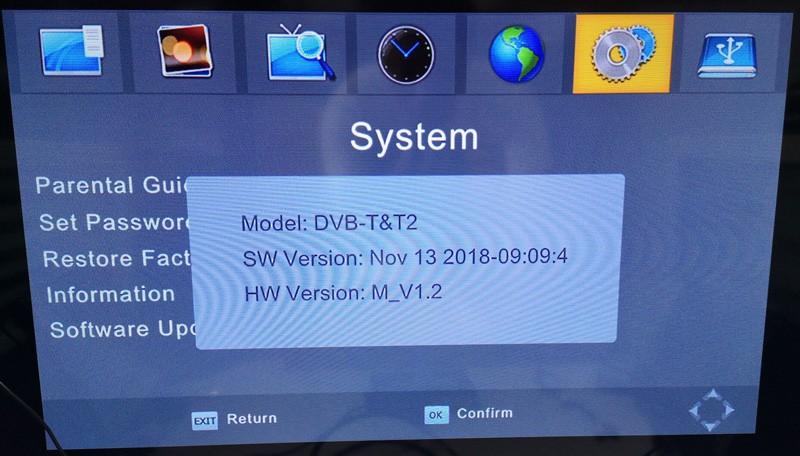 4 Antenna DVB-T24 new model OSD menu 1