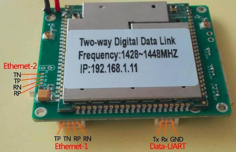 Two-way wireless transmission digital data link module 5