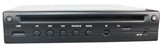 Half Din Car DVD Player HDMI output TF USB player 1