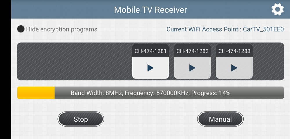 WIFI DVB-T2 Tuner Digital TV DVB-T Receiver for Android phone and pad Vcan1654 24