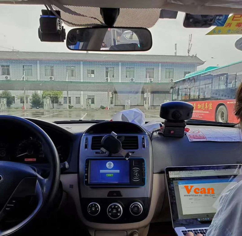 china android taxi MDT mobile data terminal software 5