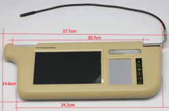 7 inch Sun Visor monitor 9 inch right left side black beige grey 8