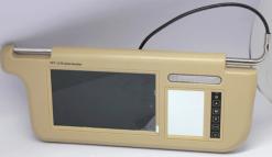 7 inch Sun Visor monitor 9 inch right left side black beige grey 9