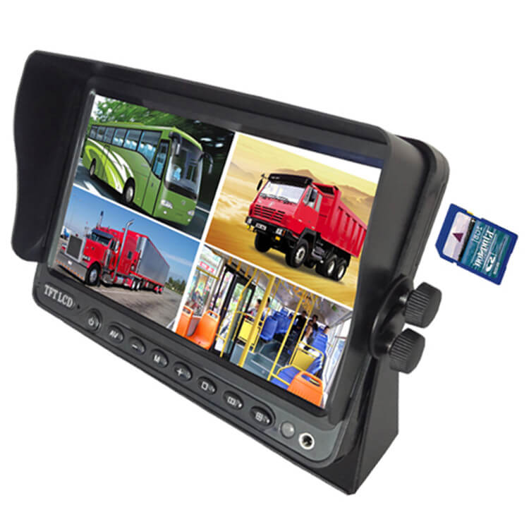 7 inch Wireless DVR quad monitor camera for Truck vehicle with AHD 1280 Night Vision HD Wifi Camera SD card Vcan1667 23