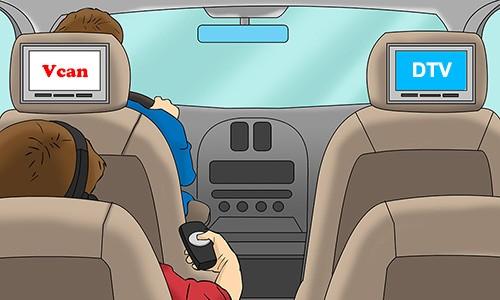 Vcan Car Digital TV