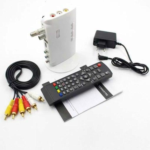 Digital TV ISDB-T ISDB-C Receptor TV Tuner Receiver TDT Set Top Box H.264 HDTV Decoder 5
