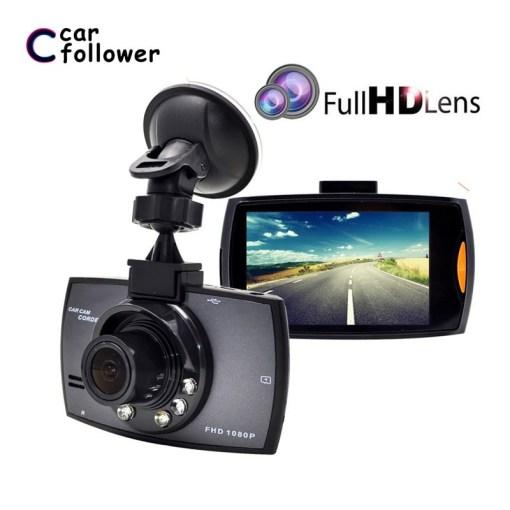 2.7 inch car DVR dashcam camera recorder Full HD 1080P IPS Screen Video Recorder Night Vision G-sensor Registrator 1