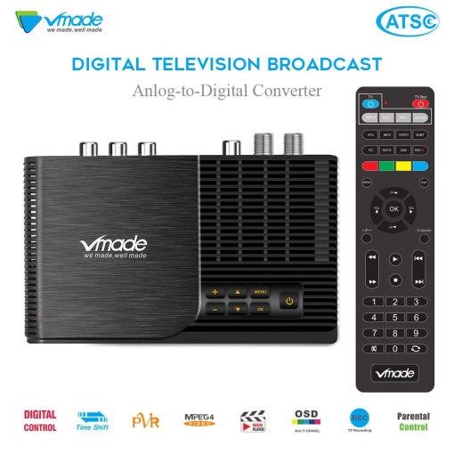 ATSC T terrestrial digital HD TV receiver work at USA Canada Mexico Korea tuner ATSC-T atsc t standard 1