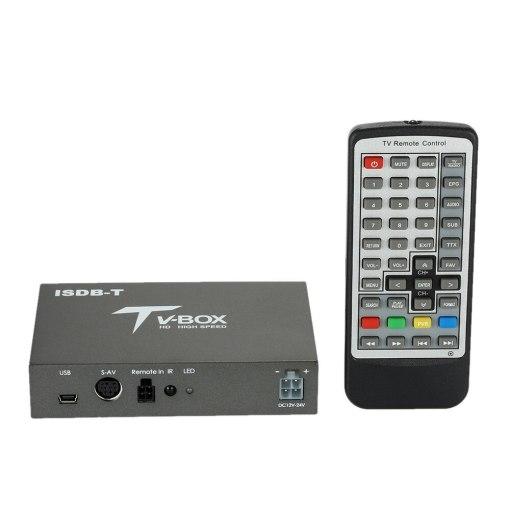 single antenna Car ISDB-T Digital TV Box HD fullSeg Receiver Mobile Digital TV Receiver for Brazil Chile Peru 5