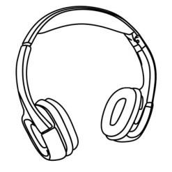 Wireless IR Headphone