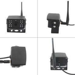 7 inch quad monitor wireless camera DVR for auto mobile truck Vehicle screen rear view monitor reverse backup recorder wifi camera 18