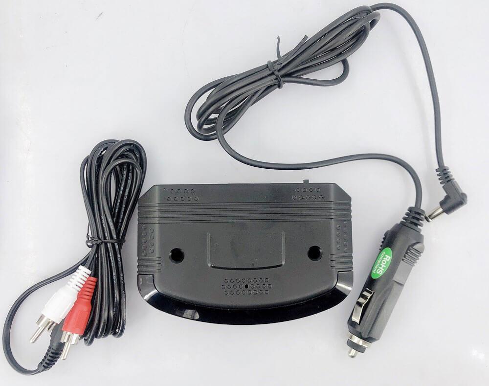 Wireless IR Audio Transmitter with car Cigarette lighter