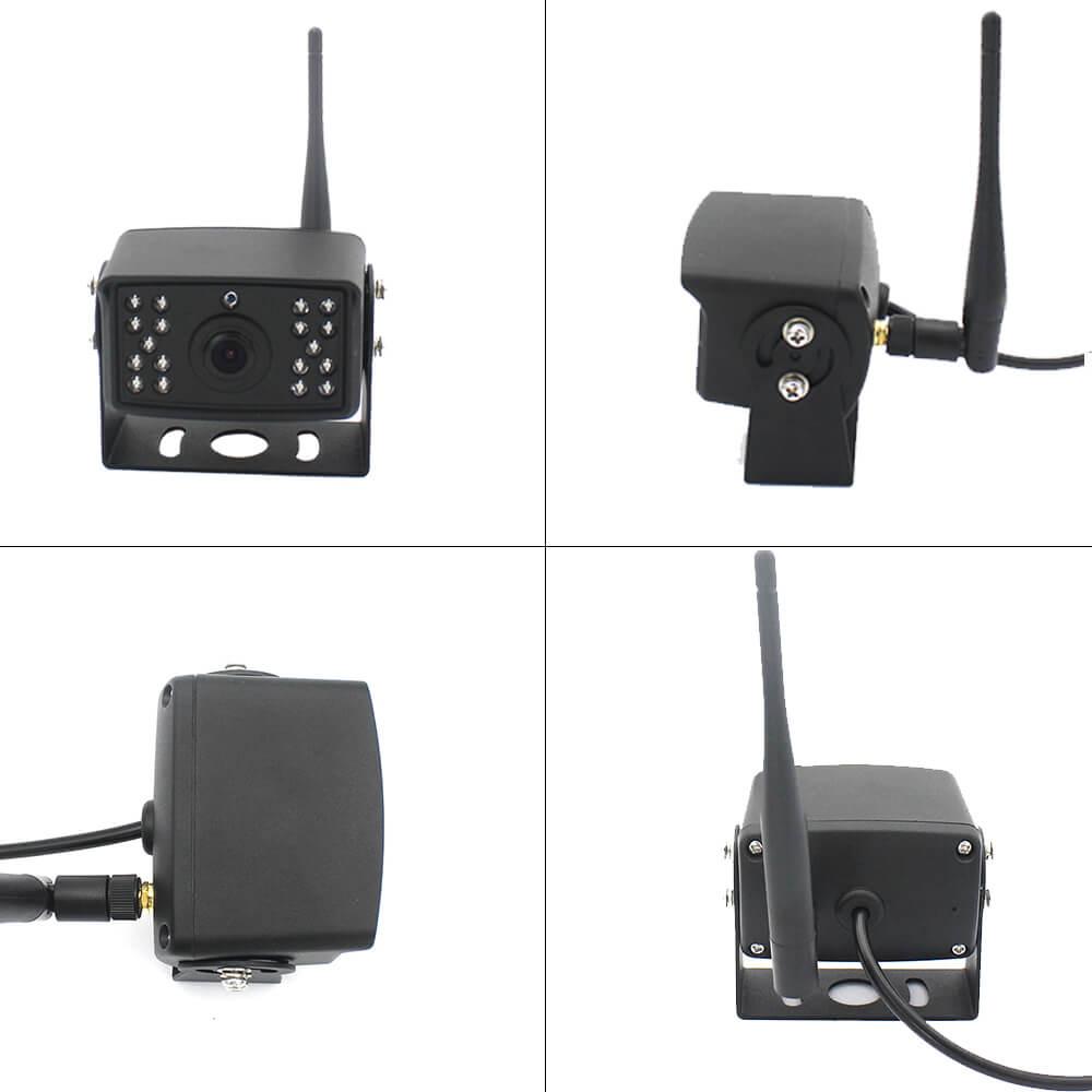7 inch quad monitor wireless camera DVR 7