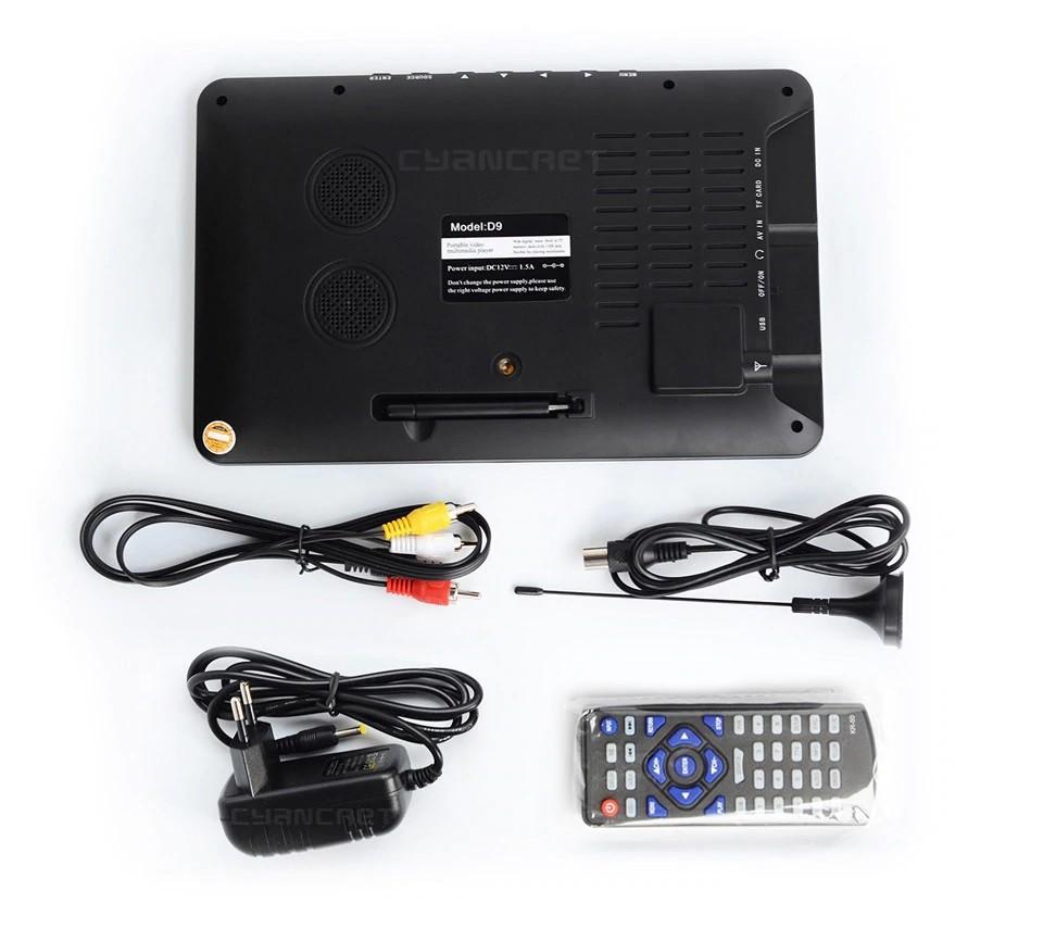 9 inch portable digital tv 7
