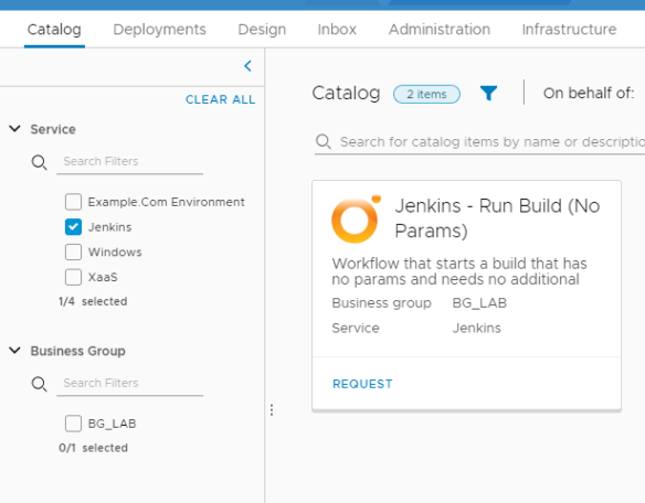 A vRealize Orchestrator/Automation Plugin for using Jenkins