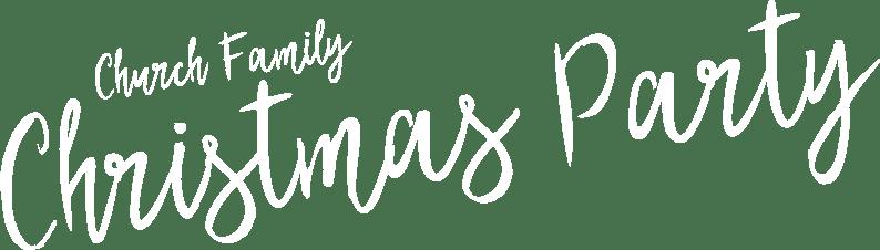 Church Family Christmas Party