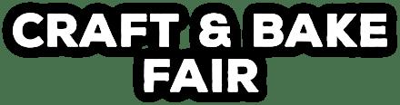 Craft and Bake Fair Web Logo
