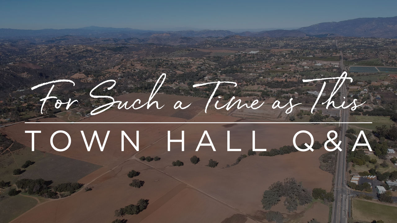 Town Hall Q&A's