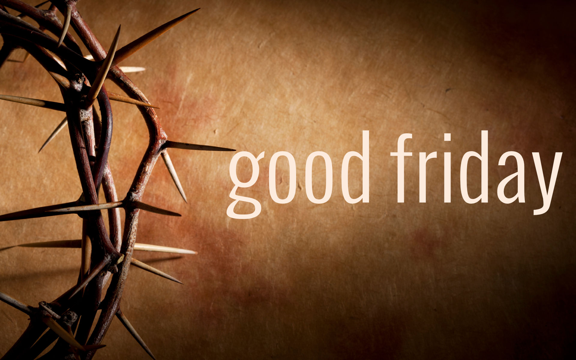 Good Friday 2016