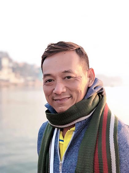 Nguyễn Quốc Kỳ có kinh nghiệm gần 10 năm dẫn outbound.
