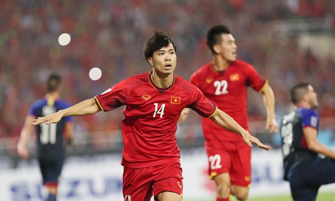 Footballer Cong Phuong rules social media in Vietnam in June
