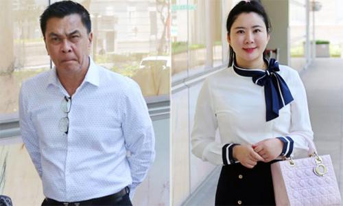 Ông Toh và cô Jiang. Ảnh: Asiaone.