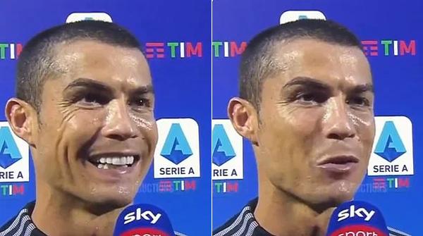 C. Ronaldo đăng ảnh bạn gái và con sau chiến thắng - Ngôi sao