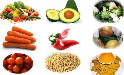 Các thực phẩm giúp ngừa ung thư. Ảnh: H.C.