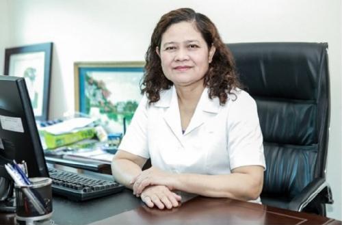 Phó giáo sư, tiến sĩ Nguyễn Thị Lâm, nguyên Phó viện trưởng Viện dinh dưỡng Quốc gia.