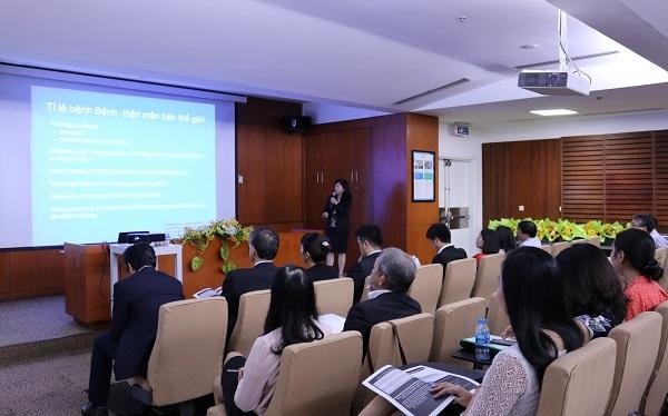 Hội thảo có sự tham gia của nhiều giáo sư, bác sĩ, chuyên gia dinh dưỡng và giảng viên chuyên ngành dinh dưỡng Việt Nam,Nhật Bản.