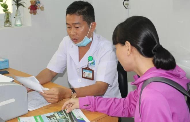 Khám, tầm soát ung thư tại Bệnh viện Ung bướu TP HCM. Ảnh: Phượng Linh.