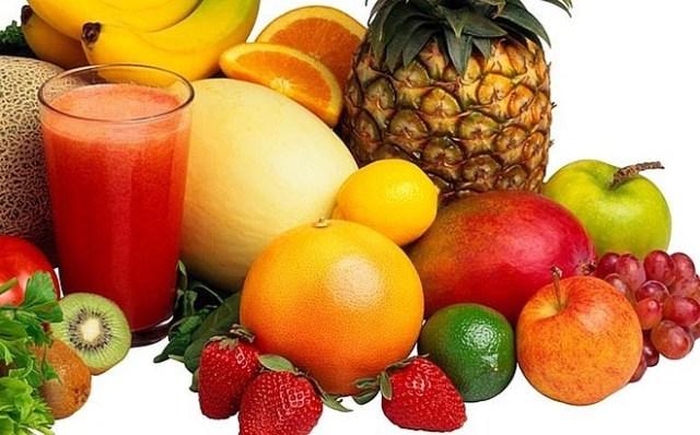 Một số loại trái cây giàu vitamin C. Ảnh: Home Base.