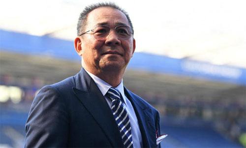 Leicester City dựng tượng Vichai
