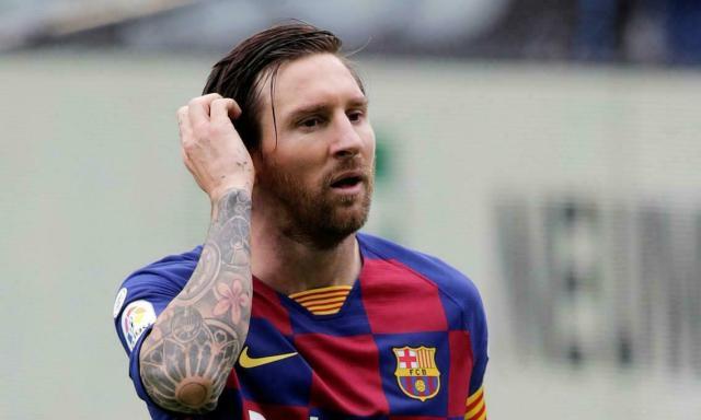 Messi còn hợp đồng với Barca đến hè 2021, và chưa có ý định gia hạn. Ảnh: Reuters.