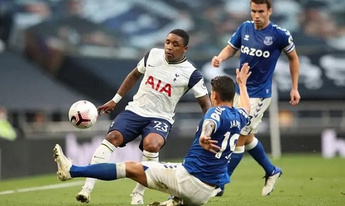 Tottenham bế tắc trong phần lớn thời gian trận đấu. Ảnh: Reuters.