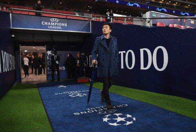 Dưới sự lãnh đạo của Steven Zhang và đầu tư từ tập đoàn của bố anh, Inter trở lại Champions League. Ảnh: Inter.it