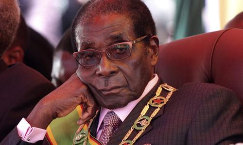 Cựu tổng thống ZimbabweRobert Mugabe. Ảnh: Reuters.