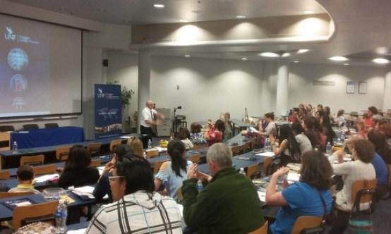 Một lớp học tại Viện Khổng tử của đại học Bắc Florida hồi năm 2016. Ảnh: UNF.