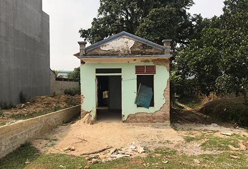 Căn nhà Vương Văn Hùng dụ nạn nhân đến giao gà. Ảnh: Phạm Dự.