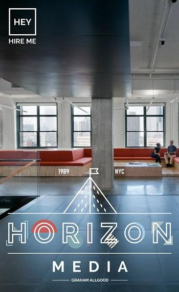 Bộ lọc địa lý do Allgood thiết kế khiến công ty Horizon Media chú ý. Ảnh: Graham Allgood
